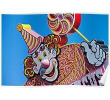 Clown - Circus Circus Poster