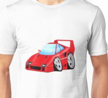 F40 Cartoon Car Unisex T-Shirt