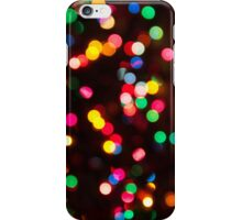 Bokeh - Christmas Light iPhone case iPhone Case/Skin