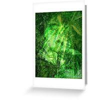 Bob Marley Tribute Poster Greeting Card