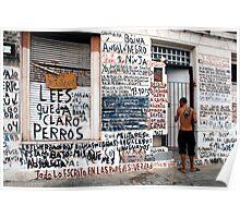 People 0955   Montevideo, Uruguay Poster