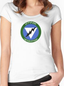 Green Squadron - Star Wars Veteran Series Women's Fitted Scoop T-Shirt