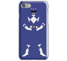 Mighty Morphin Blue Ranger iPhone Case iPhone Case/Skin