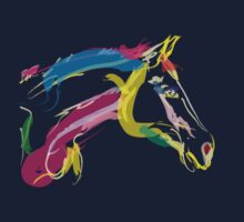 Cool t-shirt  horse Lovely by Go van Kampen