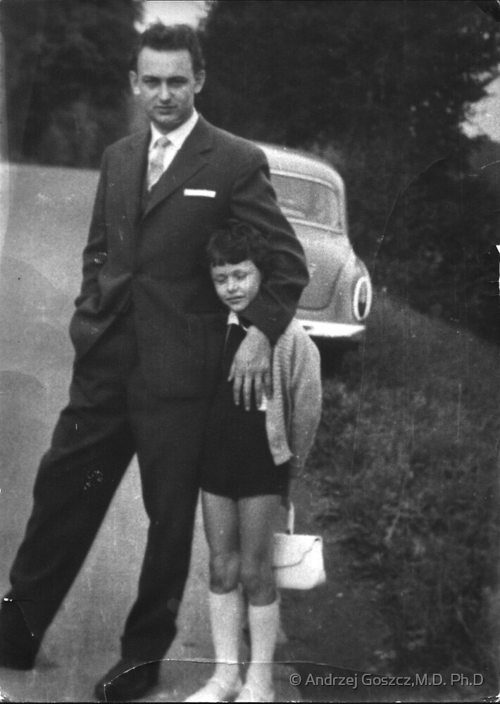 It's one of my favorite moments I've spent with my dad. 1958. Poland. Brown Sugar  .Those were the days.Views 200 .Featured the Male Appreciation   , Special Occasions! Days Gone By Good goin'! by © Andrzej Goszcz,M.D. Ph.D
