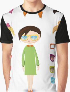 girl fashion set Graphic T-Shirt