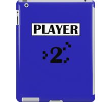 PLAYER 2 iPad Case/Skin