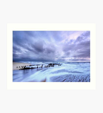 Storm at Dicky Art Print