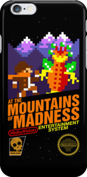 At the Mountains of Madness iPhone Case by Josh Legendre