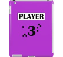 PLAYER 3 iPad Case/Skin