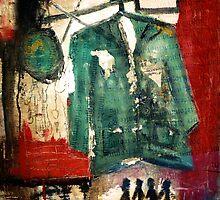 green Jacket by lamadeart