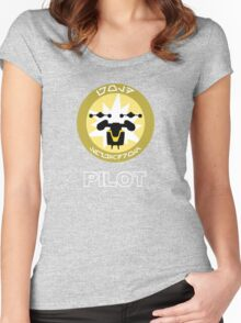 Gold Squadron - Star Wars Veteran Series Women's Fitted Scoop T-Shirt
