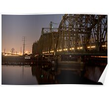 River of Lights Over the Snohomish Poster