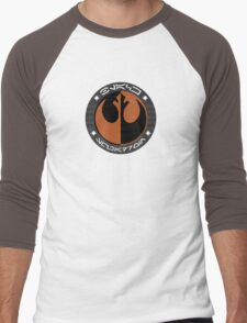 Star Wars Episode VII - Black Squadron (Resistance) - Star Wars Veteran Series Men's Baseball ¾ T-Shirt