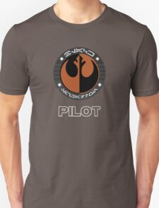 Star Wars Episode VII - Black Squadron (Resistance) - Star Wars Veteran Series T-Shirt