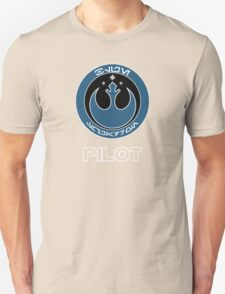 Star Wars Episode VII - Blue Squadron (Resistance) - Star Wars Veteran Series Unisex T-Shirt