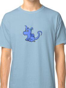 Cute Blue Dragon Classic T-Shirt