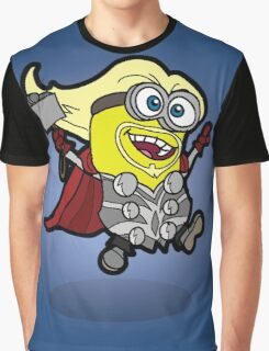 Minions Assemble - Lord of Thunder, Prince of Mingard Graphic T-Shirt