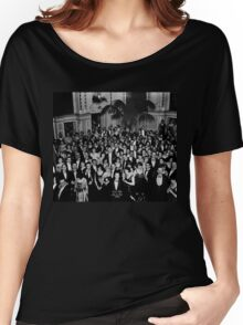 The Shining Overlook Hotel July 4th Ball Black and white Women's Relaxed Fit T-Shirt
