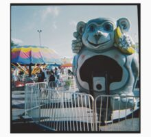 Monkey Ride - Minnesota State Fair - Diana 120mm Photograph Kids Clothes