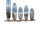 Australian Surfboards 2 by Craig Stronner