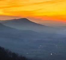 Clinch Mountain Sunset by Greg Booher