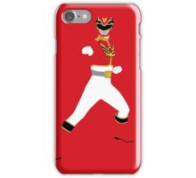 Power Rangers Mega Force Red Ranger iPhone Case iPhone Case/Skin
