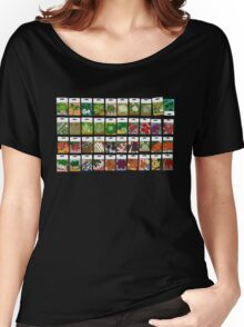 Vegetable seeds pattern Women's Relaxed Fit T-Shirt