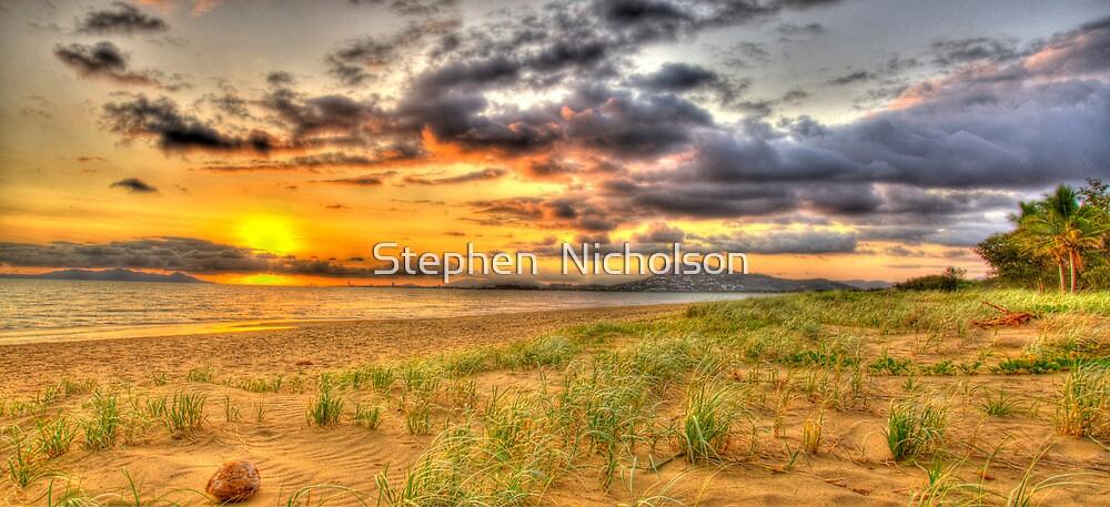 Across the Bay by Stephen  Nicholson