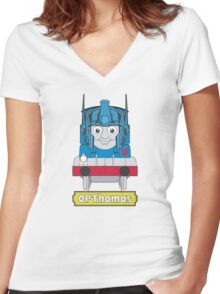 OPThomas Prime  Women's Fitted V-Neck T-Shirt