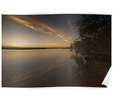 Urunga Sun Rise Poster