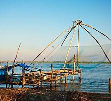 Chinese Fishing Net by photograham