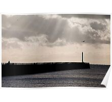 Harbour Arm East, Newhaven Poster
