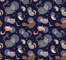 Space Cats by Shelby Hughes