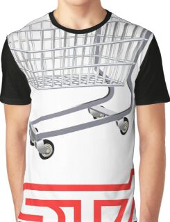 STI Shopping Cart Wing Graphic T-Shirt
