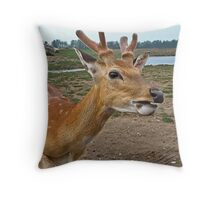 Let Me Whisper In Your Ear Throw Pillow