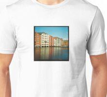 Nidelva through Trondheim, Norway - Diana 120mm Photograph  Unisex T-Shirt