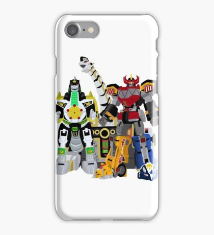 Power Rangers Megazords Combine! iPhone Case/Skin