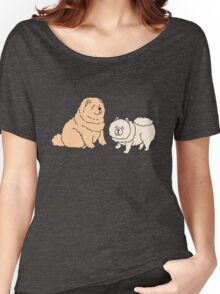 Chow Chow Dog Couple Women's Relaxed Fit T-Shirt
