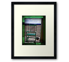 A Turtles First Step Framed Print