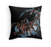 Scorpio the Water Sign  Throw Pillow