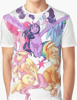 My Little Pony transparent print Graphic T-Shirt