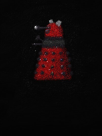 Red Dalek by Andrew IR