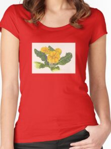 Yellow Bliss Women's Fitted Scoop T-Shirt