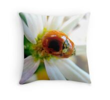 Feasting Throw Pillow