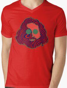 Jerry Face Mens V-Neck T-Shirt