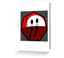 Thundering Herd Walker Group - Insignia Series Greeting Card
