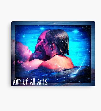 Pool of Stars Canvas Print