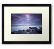 Breaking Dawn Framed Print