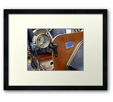 The Old Lady - Light Up My Way! Framed Print